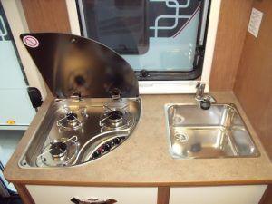 Kayak 14 Plus cocina