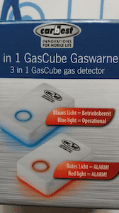 Detector de gases Carbest 3 en 1