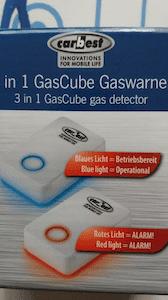 Detector de gasos Carbest 3 en 1