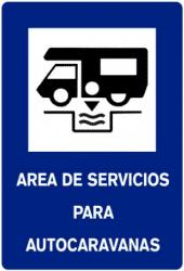 senyal d'area per autocaravanes